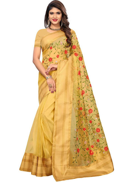 Net sarees the latest trend in the saree world
